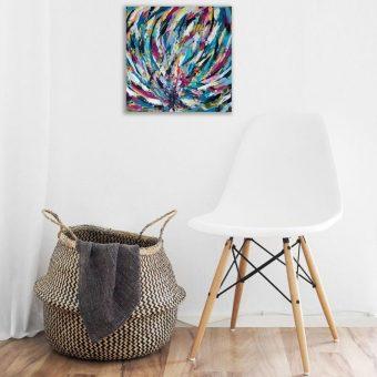 Interior with Artwork
